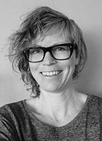 Skribenten Lena Källberg, porträtt.